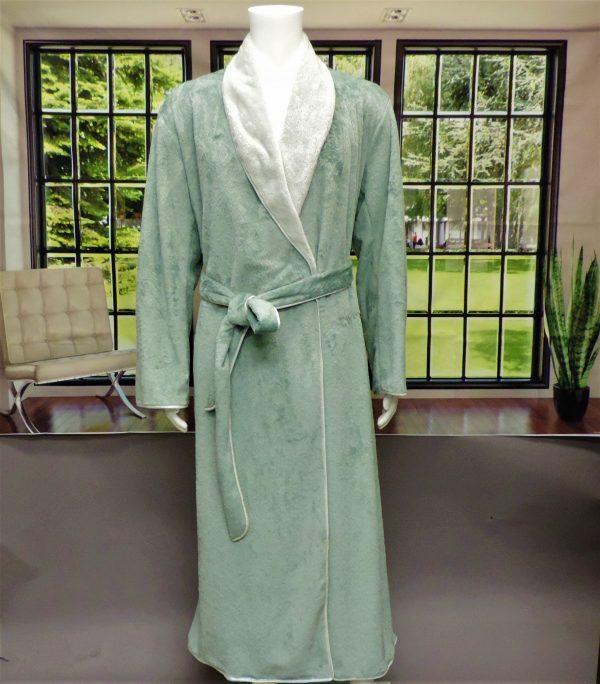 cms mens robe slate silver grey