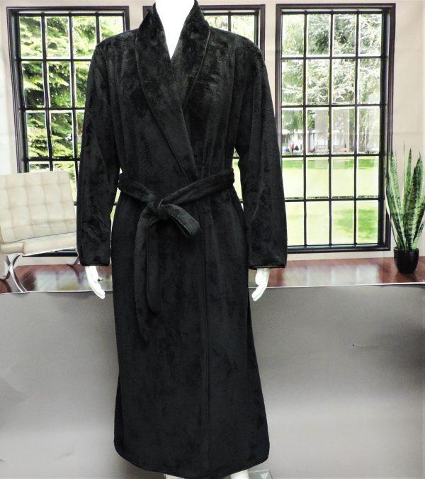 ms mens robe black
