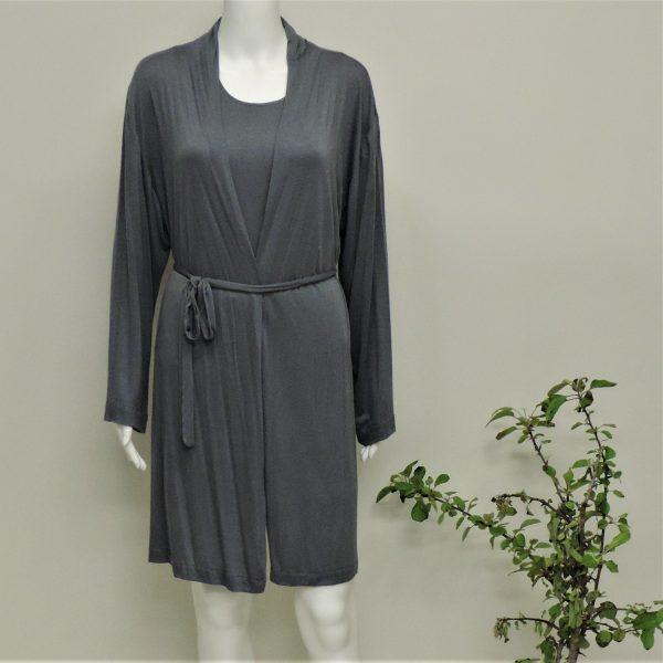 mm robe blue grey
